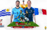 Soi kèo nhà cái Uruguay vs Pháp 21h00 ngày 06/07 World Cup 2018