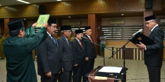Ini Empat Pejabat Baru Pemerintah Aceh Yang Dilantik
