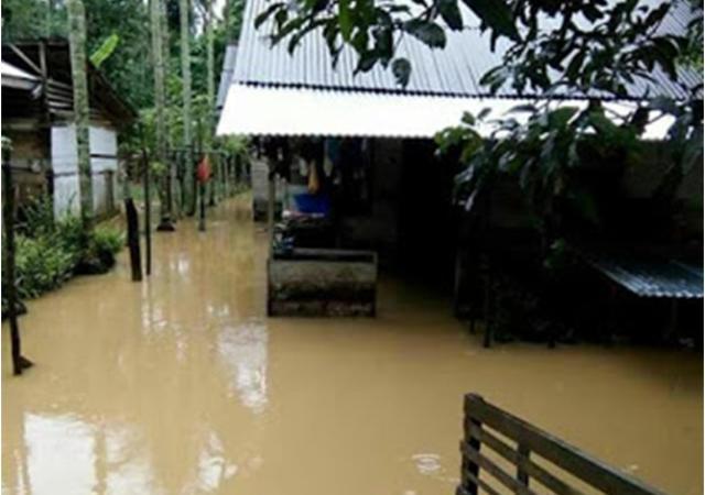 Beberapa Kecamatan di Aceh Timur Mulai terendam Banjir