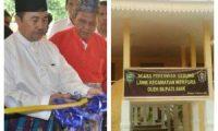 Bupati Siak Hadiri Peresmian Gedung LAMR Kecamatan Mempura