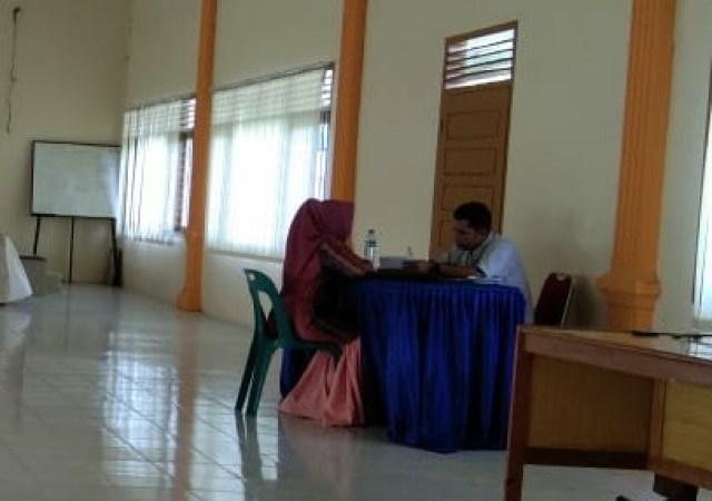 KIP Aceh Utara Tes Wawancara Ribuan Calon Anggota PPS