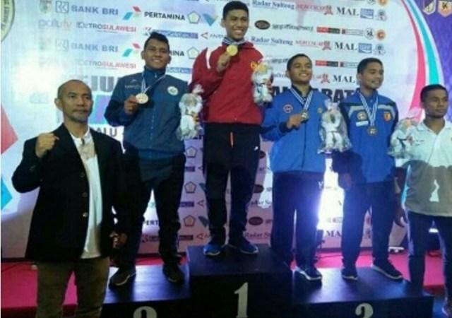 Atlit P Sidimpuan Raih Perak Kejurnas Karate Piala Mendagri