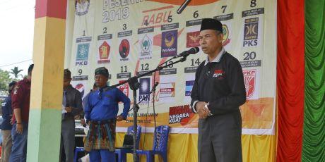 "Serentak se-Indonesia, KPU Siak Gelar Seni Budaya.""Pemilu Berdaulat Negara Kuat"""