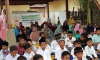 Yayasan Cahaya Aceh Buka Puasa dan Santuni Ratusan Yatim