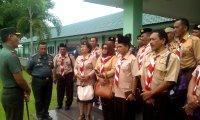 Temu Saka dan HUT Pramuka ke57Jajaran Korem 023/KS di Ikuti 23 Kabupaten dan Kota