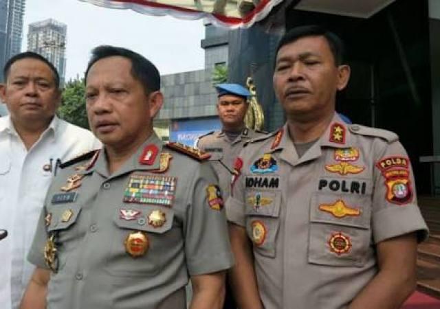 Kapolri : Seluruh Polda Kirim Bantuan ke Lombok