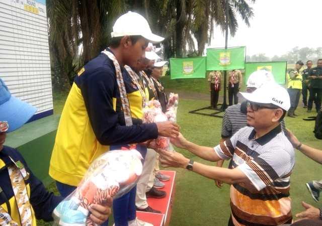 Tim Golf Kabupaten Bekasi Raih Emas dan Perak di Porda Jabar XIII 2018