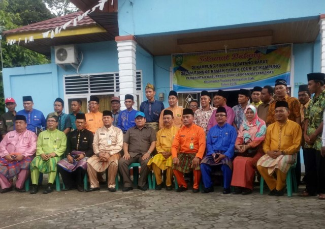 Tour de kampung ke-19 dilaksanakan di Kampung Pinang Sebatang Barat Kecamatan Tualang