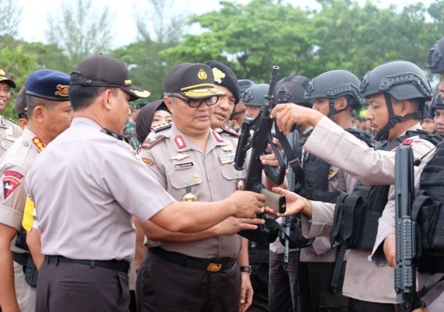 Tim Baharkam Polri Evaluasi Kesiapan Pemilu Aceh