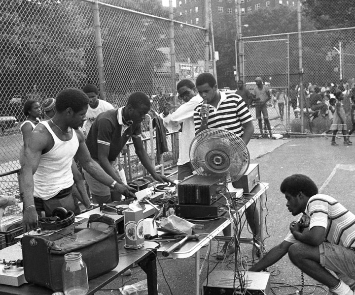 South Bronx Park Jam, 1984. Photograph by Mr Henry Chalfont.