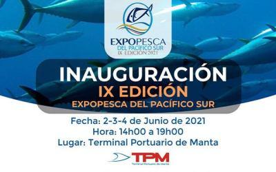 02-03-04 JUNE, 2021, ECUADOR NEWS. ExpoPesca: the trade show.
