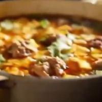 レシピ#39  激辛 肉団子スープ Fiery meatball soup
