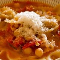 南フランスの冬の味覚!ひよこ豆のスープパスタ