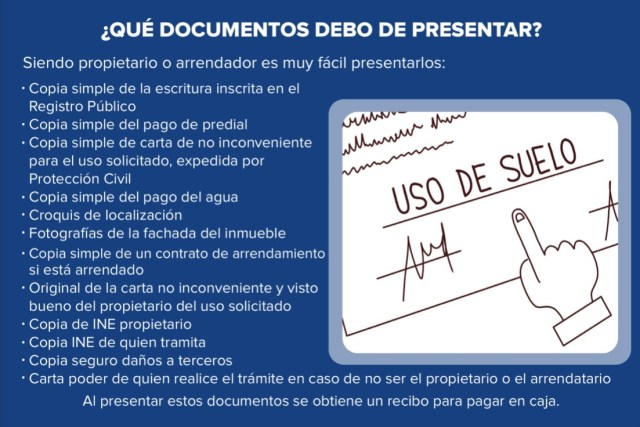 Requirements for specific land use in San Miguel de Allende