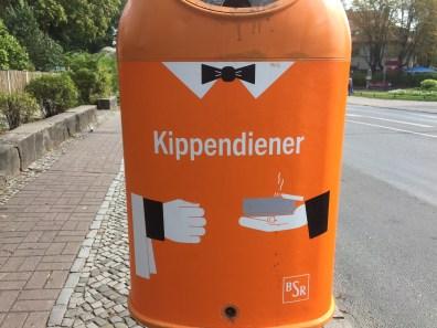 Berlin, litter bins, recycling, garbage, city, waste management, butler