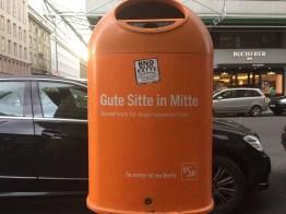 Good habit in Mitte (district)