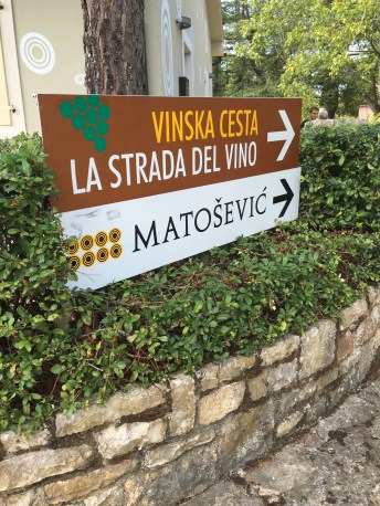 Wine tasting at Matosevic winery - Real Food Adventure Slovenia and Croatia