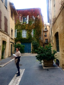 Charming little Aix streets