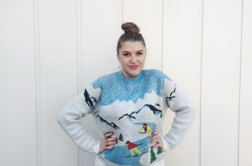 How to look cute in an Ugly Sweater