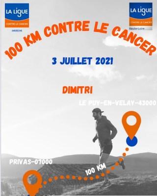 """Dimitri Mejean lance un événement """"100 km contre le cancer"""" pour soutenir La Ligue Contre le Cancer"""