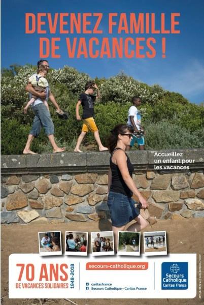 Avec l'ACCUEIL FAMILIAL DE VACANCES (AFV), le Secours Catholique propose à des familles bénévoles d'accueillir des enfants durant les vacances