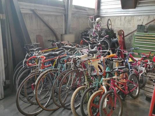 Dons de vélos pour Solidarauto 43