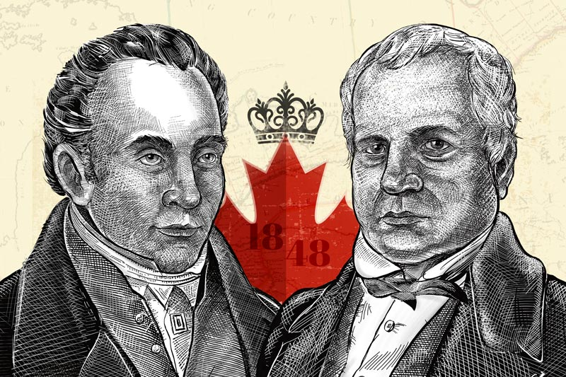 Establishment of responsible government in United Canada