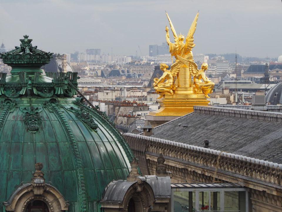 Pariisin paras kattoterassi