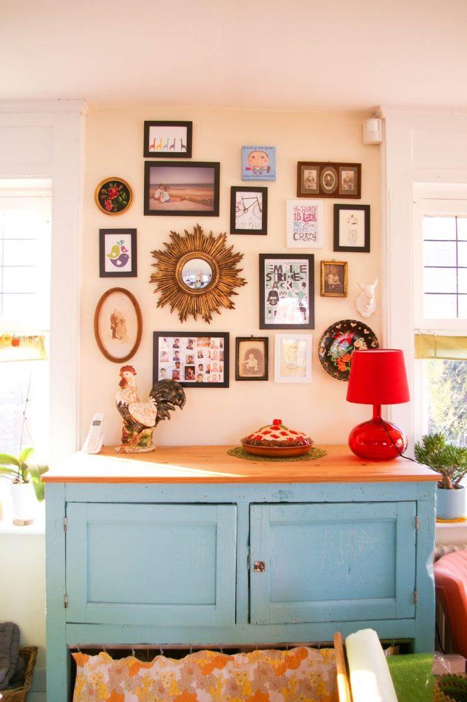 mon mur de cadres. Black Bedroom Furniture Sets. Home Design Ideas