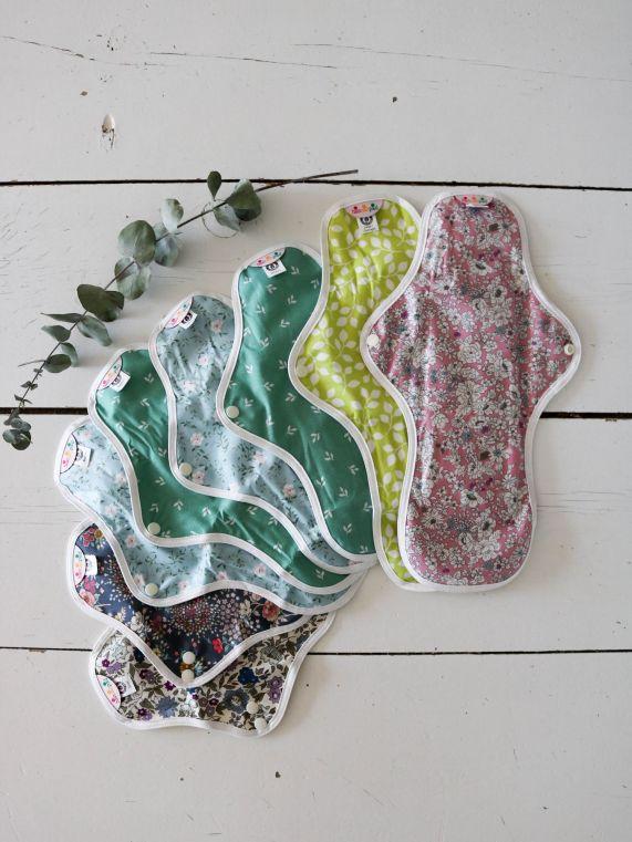 Les serviette hygiéniques lavables hannahpad