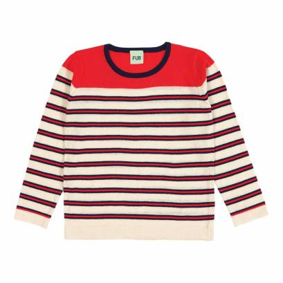 fub-double-striped-sweater-ecru-navy-red