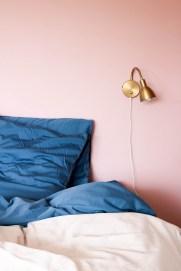 Parure de lit fabriqué en France dans le Nord Bleu Flandres