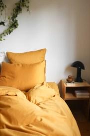 Parure de lit fabriqué en France dans le Nord houblon