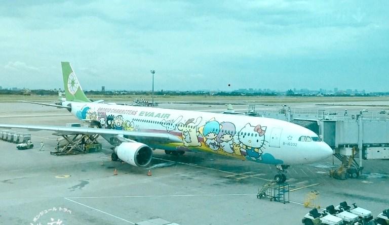 (桃園機場-新千歲機場)享受高空的舒適與美味~長榮KITTY班機商務艙搭乘記