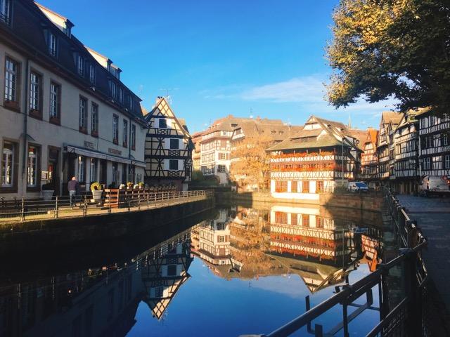 ヨーロッパ周遊12日間の旅〜可愛さと都会が融合するストラスブール(アルザス)を街ブラ!
