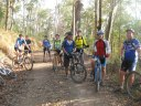 Mt Nebo MTB ride ~ Nearly there!