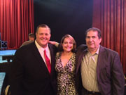 Billy Gardell, Joe & Margaret Sanfelippo at the Plaza