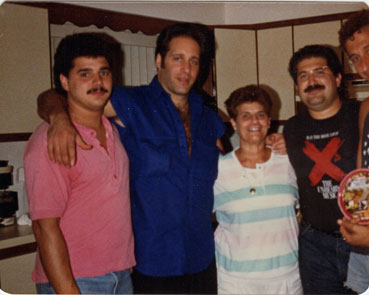John Sanfelippo, Andrew Dice Clay, Mom, Joe Sanfelippo, Noodles