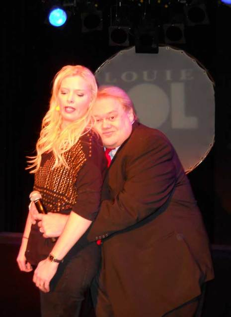 Louie Anderson and Melissa Peterman