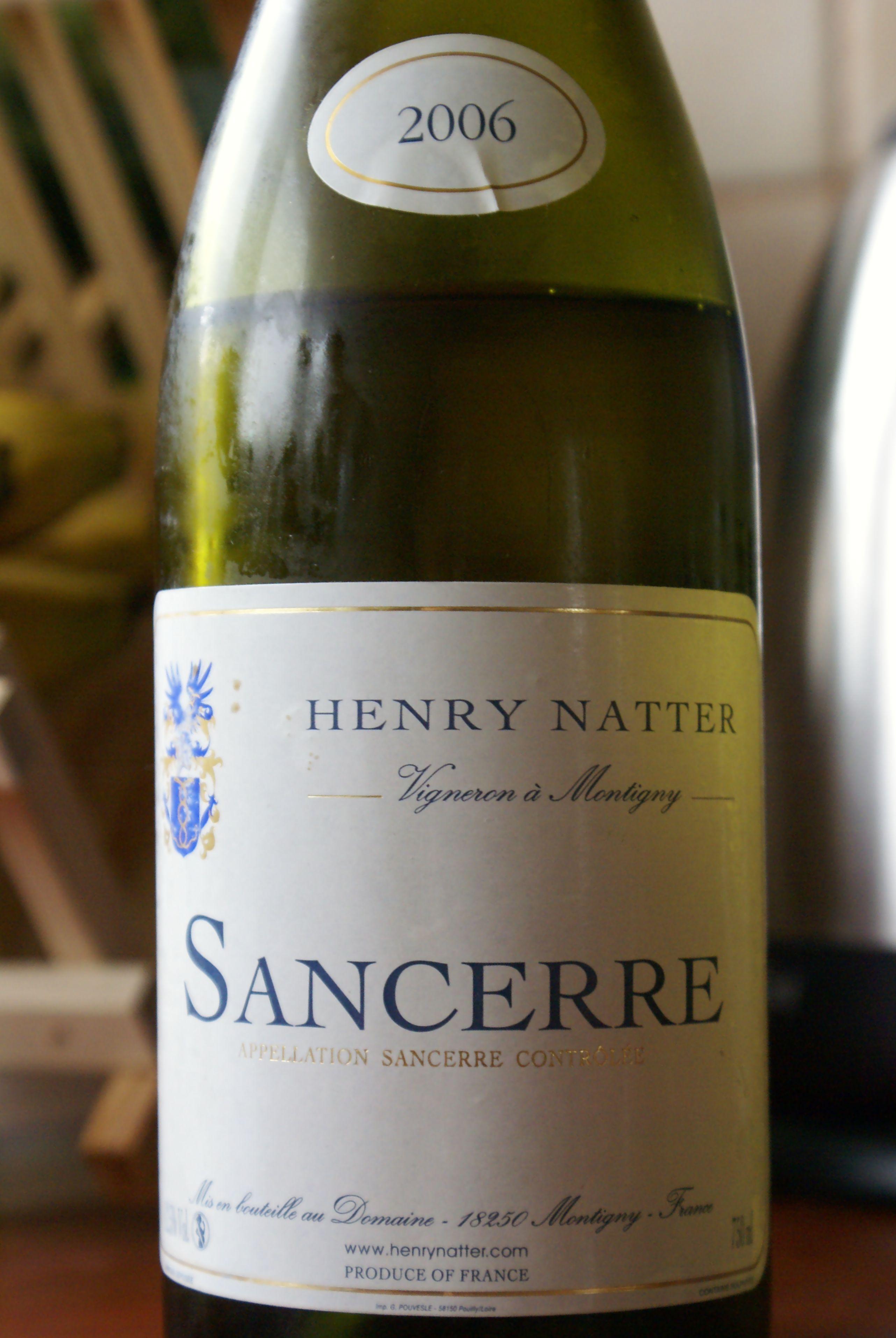 Henry Natter Sancerre 2006