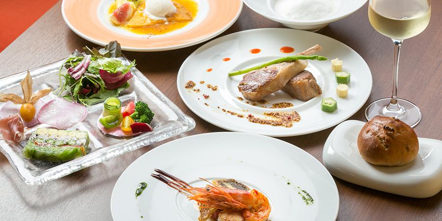 コース料理のイメージ写真