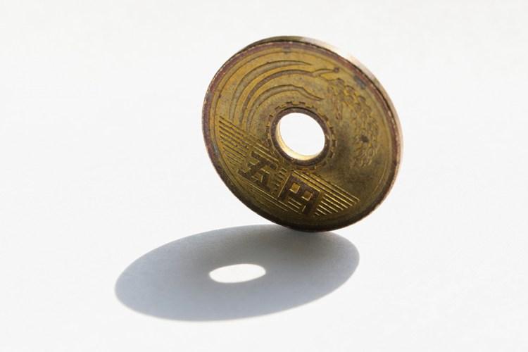 五円玉のイメージ写真