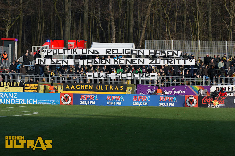 """Fußball ist Fußball, Politik ist Politik!"""