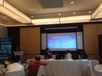 Philippines Property Awards 2016 shortlist press conference on 15 March 2016; The official shortlist was announced, as well as the agenda for the Property Report Congress Philippines