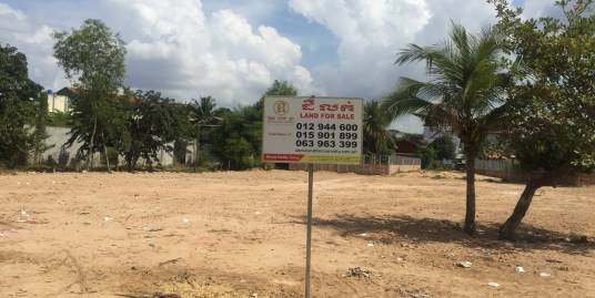 Land for Sale: $280/sqm