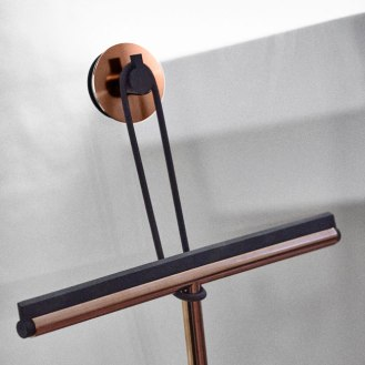 NOVA 2, Kitchen, Bathroom and Wardrobe System Material: Stainless steel, brushed, polished or copper finish Client: Frost.dk Year: 2004 - 2015
