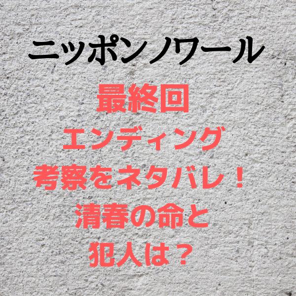 ニッポンノワール フル視聴