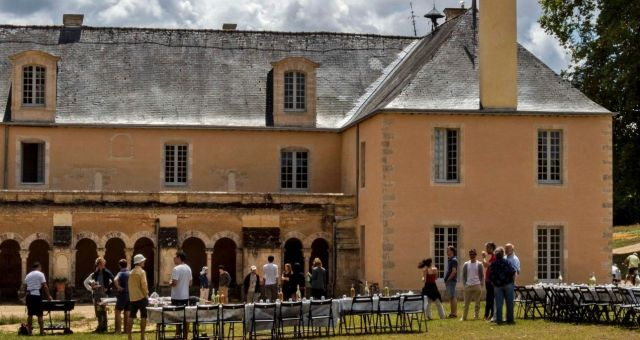 The Abbaye is home for the resident community receiving guests, meditation, community life, silence