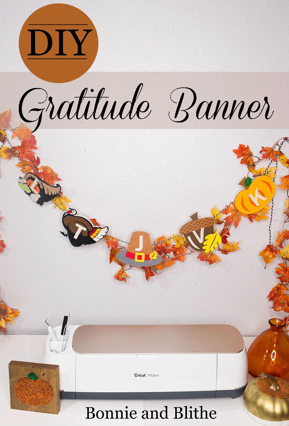 Diy Thanksgiving Gratitude Banner Fun Kids Craft