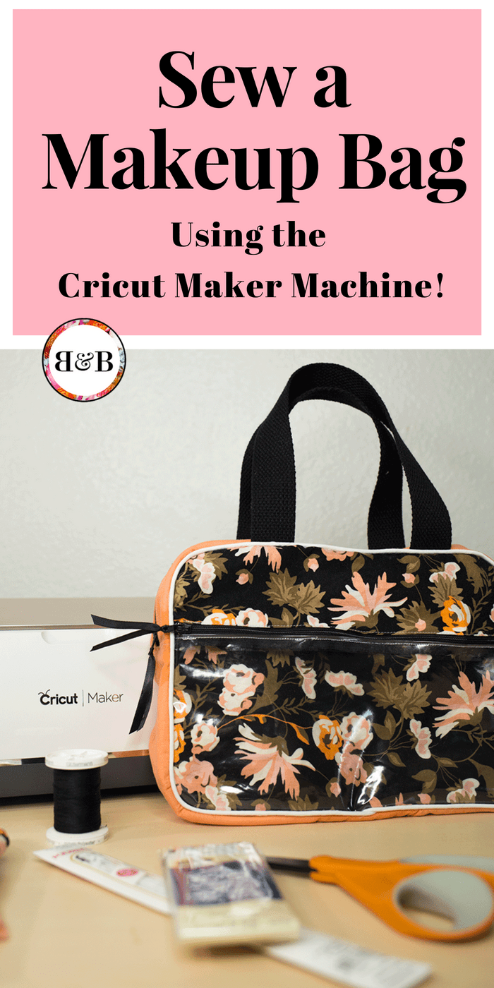 The future of sewing is here! If cutting out patterns and fabric is your least favorite part of making a project, then you need to try sewing with the Cricut Maker. This machine cuts hundreds of fabrics without any backing and partners with oodles of Simplicity digital patterns making sewing accessible to anyone! Check out this video tutorial to learn how to make a cosmetic tote using the Cricut Maker machine.